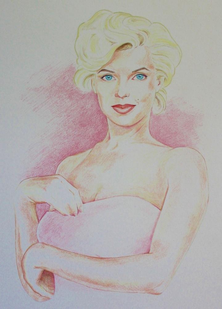Marilyn Monroe by bigd4787